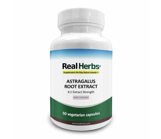 Astragalus Extract 4:1 700mg Real Herbs  Anti-age per salute del cuore e sistema immunitario