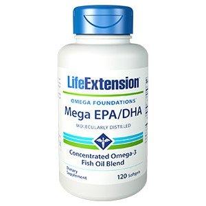 Mega EPA / DHA Omega Foundations®  Per salute cardiovascolare e cervello