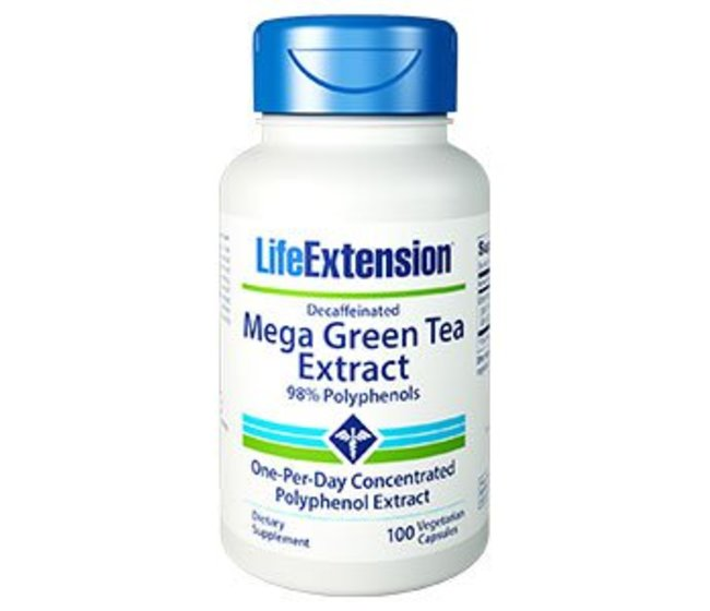 MEGA GREEN TEA EXTRACT (DECAFFEINATED) The verde estratto per proteggere la salute a largo raggio