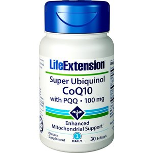SUPER UBIQUINOL COQ10 WITH PQQ   Energia cellulare dai mitocondri Anti-Age Antiossidante