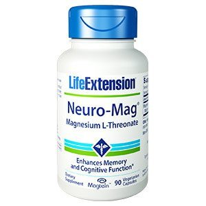 NEURO-MAG MAGNESIUM L-THREONATE Magnesio per il funzionamento di oltre 300 processi biologici e la funzione cognitiva
