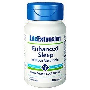 ENHANCED SLEEP WITHOUT MELATONIN  Aiuto per il sonno e la riduzione dello stress