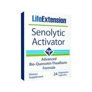 SENOLYTIC ACTIVATOR   Quercetina e teaflevina combattono le cellule senescenti e l'invecchiamento