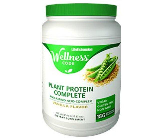 PLANT PROTEIN COMPLETE  Vegan - Integratore a base di proteine 100% vegetali adatto per regimi di allenamento fisico