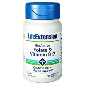 BIOACTIVE FOLATE & VITAMIN B12  Folato e vitamina B12 per la salute di cuore e cervello
