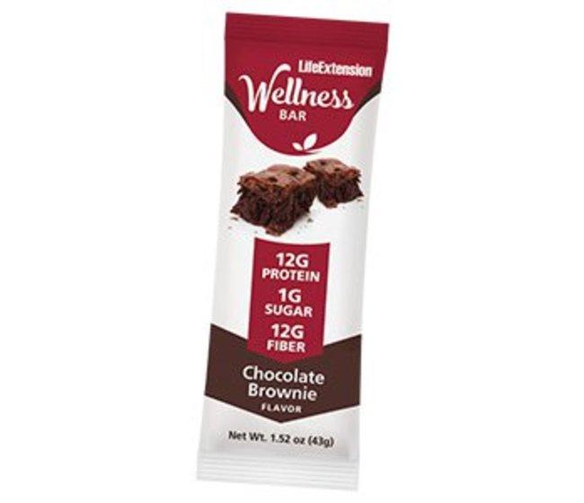 WELLNESS BAR™, CHOCOLATE BROWNIE  Una barretta per uno snack salutare e nutriente senza sensi di colpa