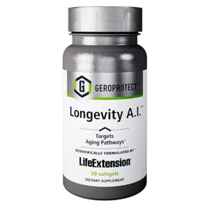 GEROPROTECT™ LONGEVITY A.I.™  ANTI-AGE supplemento nutrizionale per una vita più lunga