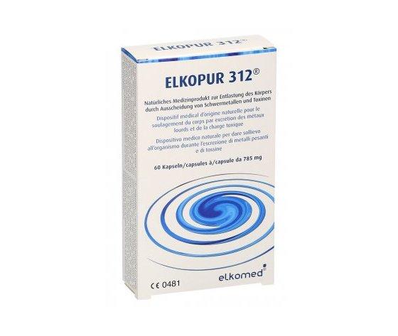 Zeolite - Elkopur 312® + Montmorillonite Disintossicante Per 30 giorni-Elimina metalli pesanti, radioisotopi, tossine, istamina