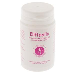 Bifiselle - Integratore Alimentare con Fermenti lattici e Magnesio Favorisce l'equilibrio della flora intestinale, elimina le tossine alimentari e riduce la formazione di gas intestinali