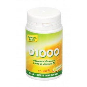 D1000 - Integratore Alimentare a base di Vitamina D Una vitamina fondamentale per il benessere psicofisico