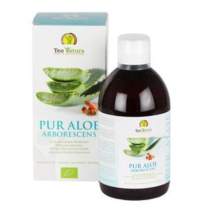 """Succo di """"Pur Aloe Arborescens""""  No alcol, no glutine, no ogm  Antiossidante. Antinfiammatorio. Per la salute di stomaco ed intestino"""