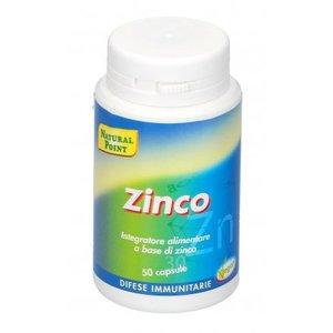 Integratore di Zinco  Per il mantenimento in salute di ossa, capelli, pelle e unghie.