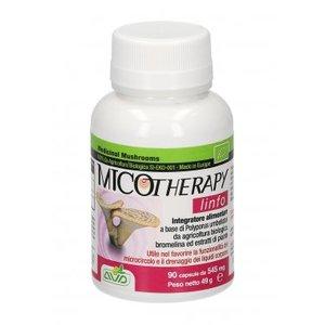 Micotherapy - Polyporus   Azione diuretica Per stasi linfatica