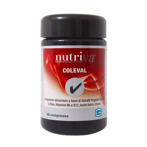 Coleval - 60 Compresse Utile per favorire il controllo del colesterolo e dell'omocisteina