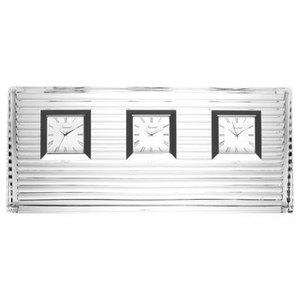 Baccarat Orologio Triple Pendulette Galilée