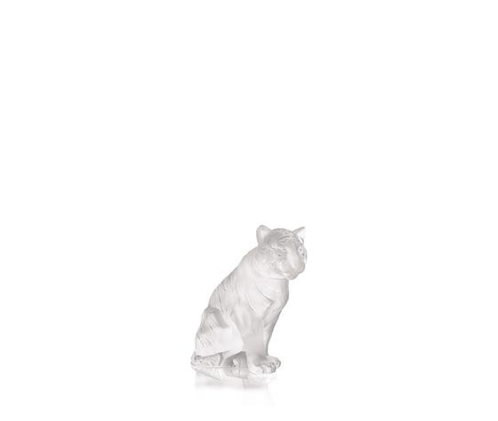 Lalique Scultura Tigre Seduta