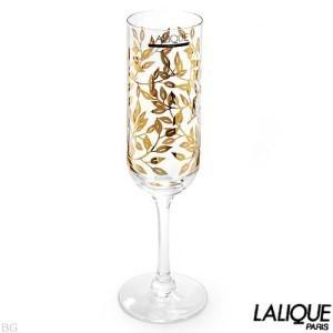 Lalique Flute Champagne Liane Gold