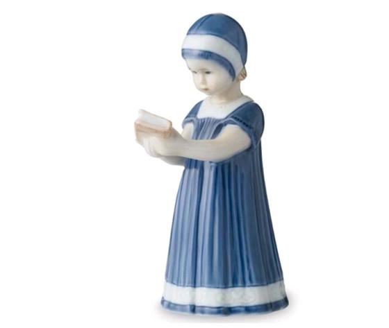 Royal Copenhagen Statuina Elsa con Libro mini