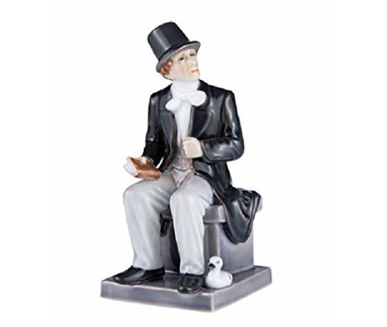 Royal Copenhagen Statuina Hans Christian Andersen Annual figurine 2014