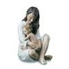 Mamma con bimbo che dorme royal copenhagen