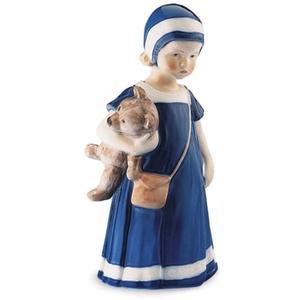 Royal Copenhagen Statuina Elsa con orsetto