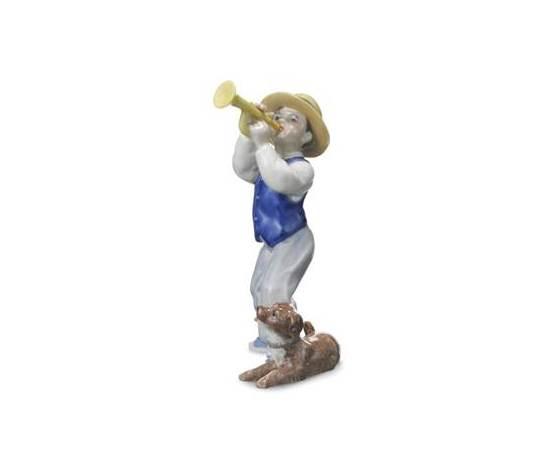Royal Copenhagen Statuina Carl suona la tromba Annual Figurine 2010