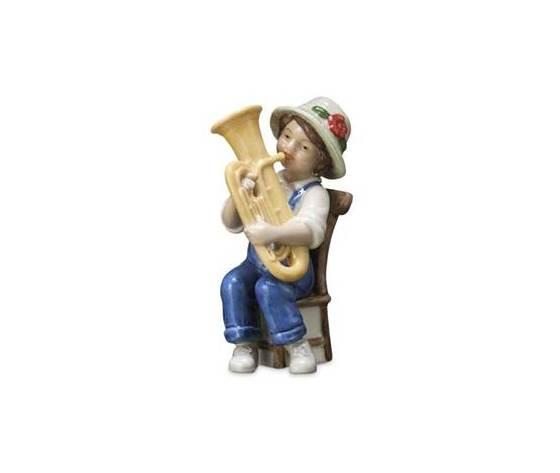 Royal Copenhagen Statuina Mary suona la Tuba