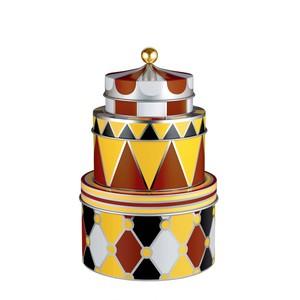 Alessi Set di 3 scatole portaoggetti Circus