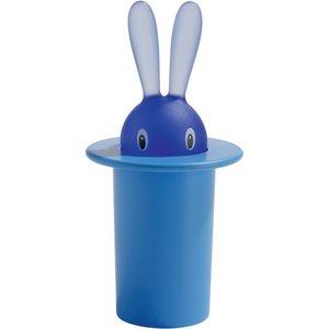 Alessi Portastuzzicadenti Magic Bunny azzurro