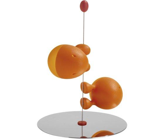 Alessi Servizio per Sale e Pepe Lilliput Arancio
