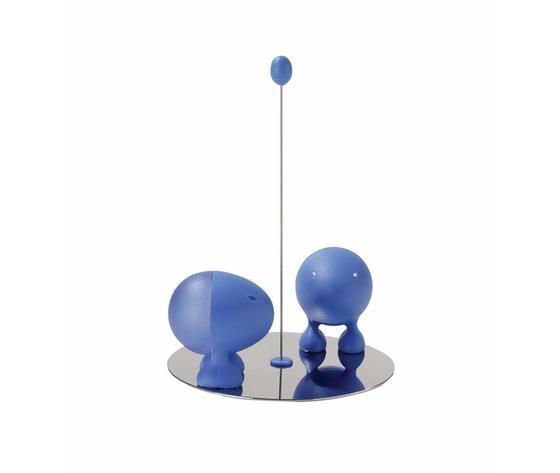 Alessi Servizio per Sale e Pepe Lilliput Blu