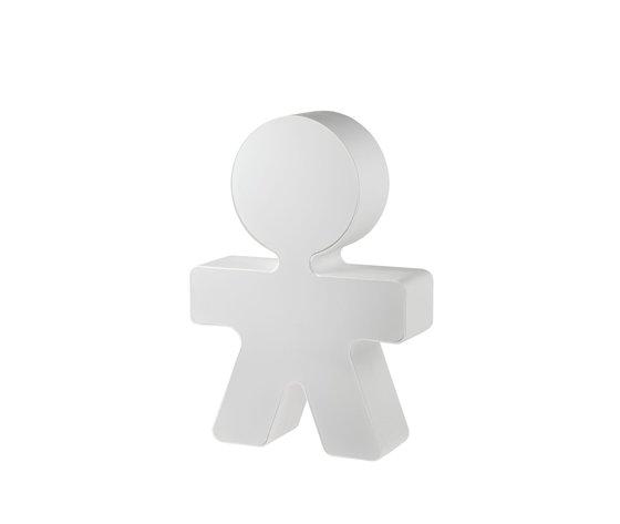 Alessi Lampada da tavolo Girotondo bianco