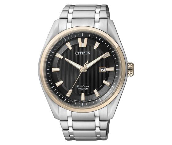 Citizen Eco Drive AW1244-56E 1240 Super Titanium orologio per uomo