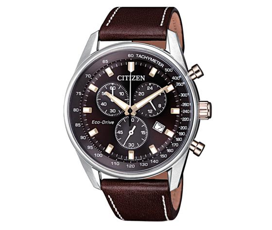 Citizen Eco Drive of Collection AT2396-19X Cronografo Orologio per Uomo