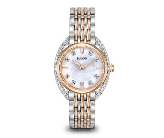 Bulova 98R270 Classic Diamanti Orologio da Donna