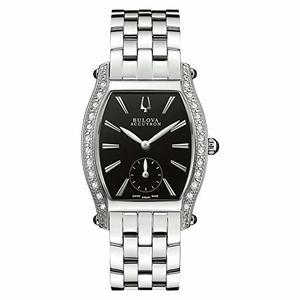 Bulova 63R006 Saleya Diamonds Accutron Swiss Made Orologio per Donna
