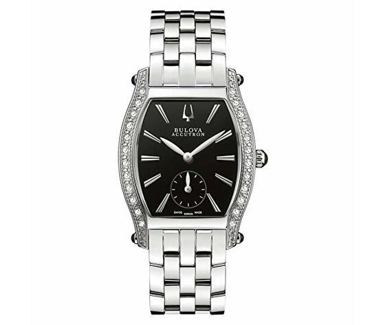 Bulova 63R006 Saleya Diamonds Accutron Swiss Made Orologio per Donna