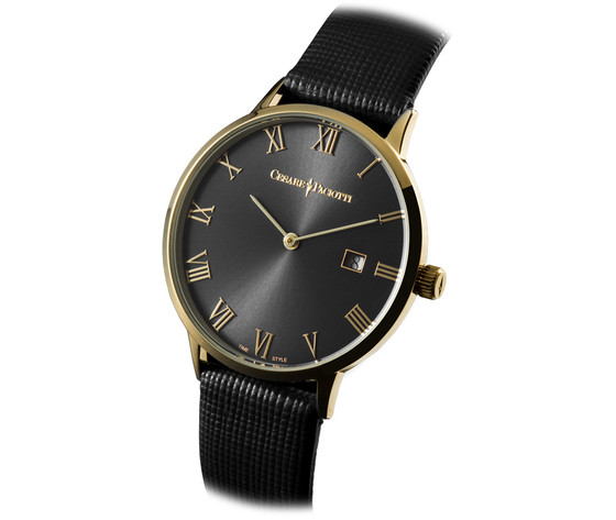 Cesare Paciotti Time Style Modello Dominic Golden Black TSST112 Orologio per Uomo