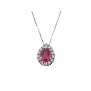 Bibigì Collana con Rubino e Diamanti