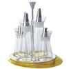 Oliera giallo accessori da tavola glamour 1391 z