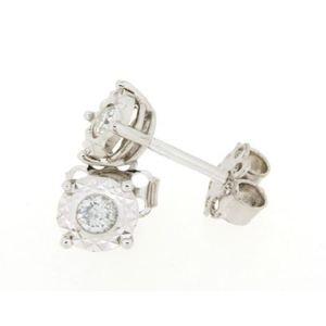 Clesi Gioielli Linea Riflessi Orecchini con Diamanti 0.20 ct