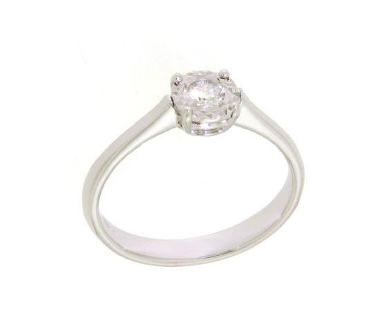 Clesi Gioielli Linea Riflessi Anello Solitario con Diamante 0.10 ct