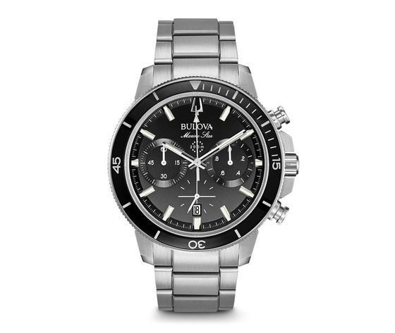 Bulova 96B272 Orologio Cronografo per Uomo Marine Star