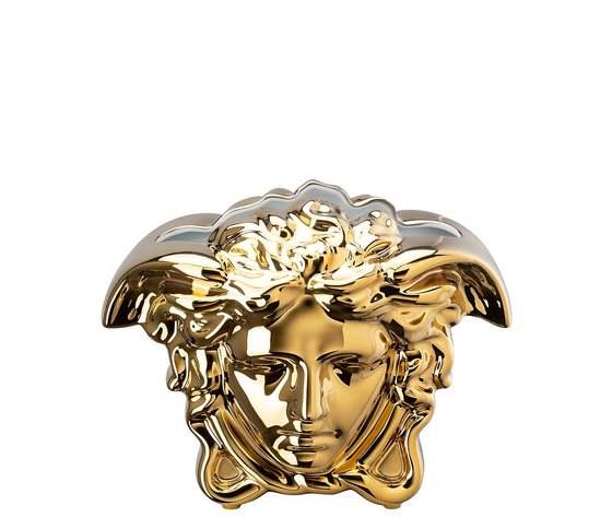 Versace Vaso Medusa Grande 21 cm Gold