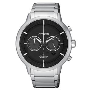 Citizen Eco Drive Orologio per Uomo Cronografo Super Titanium CA4400-88E