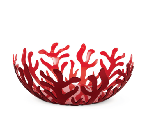 Alessi Fruttiera Mediterraneo Rosso 25 cm