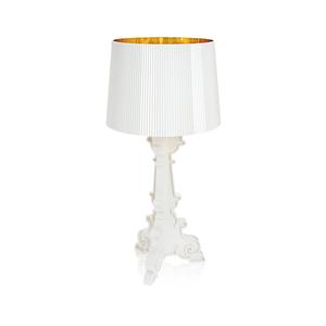 Kartell Bourgie lampada da tavolo Bianco Coprente