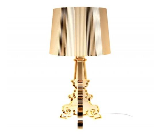 Kartell Bourgie lampada da tavolo Oro