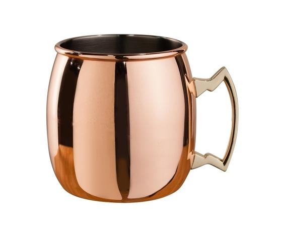 Mepra moscow mule mug curved 450 ml