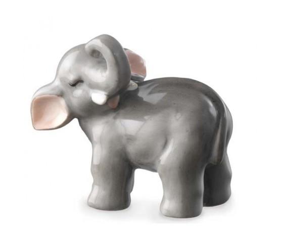 Royal Copenhagen Statuina Elefantino portafortuna